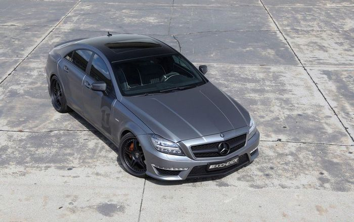 Mercedes-Benz CLS 63 AMG Yachting Edition от ателье Kicherer (10 фото)