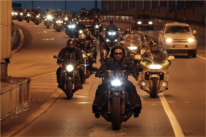 Разновидности байкеров на столичных дорогах (8 фото+видео)