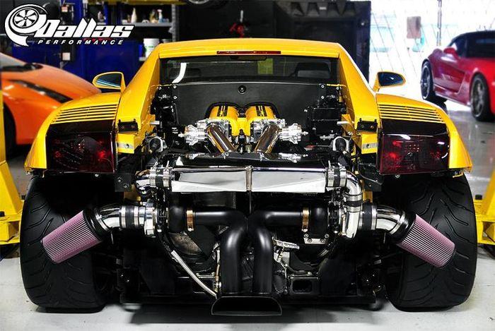 В Dallas Performance зарядили Lamborghini Gallardo (14 фото)