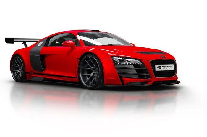 Audi R8 получил стайл-пакет от ателье Prior Design (8 фото)