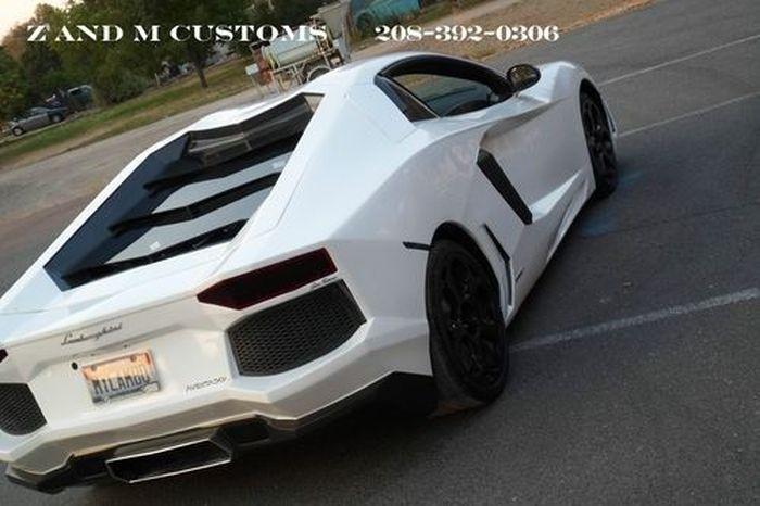 Реплика Lamborghini Aventador LP700-4 из Pontiac GTO (25 фото+2 видео)