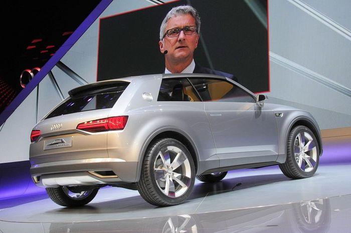 Компания Audi представила новый кроссовер Crosslane Coupe Concept (68 фото+видео)
