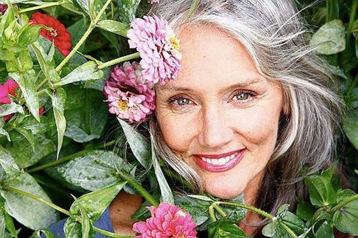 Как можно правильно и красиво стареть - модели 50+ (17 фото)