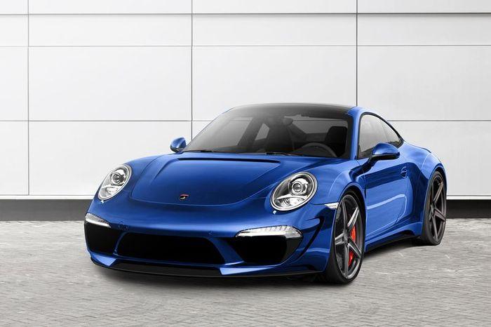 Porsche 911 Carrera 4/4S получил стайл-пакет от тюнеров из TopCar (3 фото)
