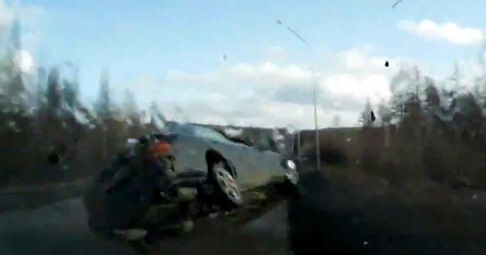 Авария дня часть 749 (фото+видео)