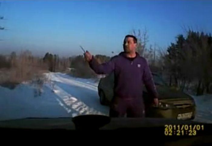 Разборка двух таксистов из Миаса (видео)