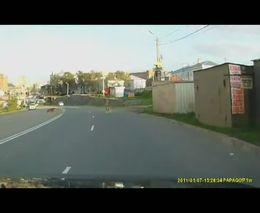 Наглые кавказцы на дороге