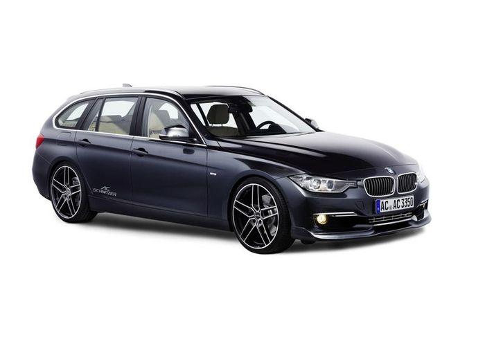 Сараи третьей серии от BMW подверглись тюнингу в ателье AC Schnitzer (13 фото)