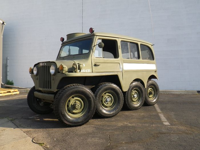 Найдено на Ebay. JEEP Willys Overland 8X8 (51 фото)