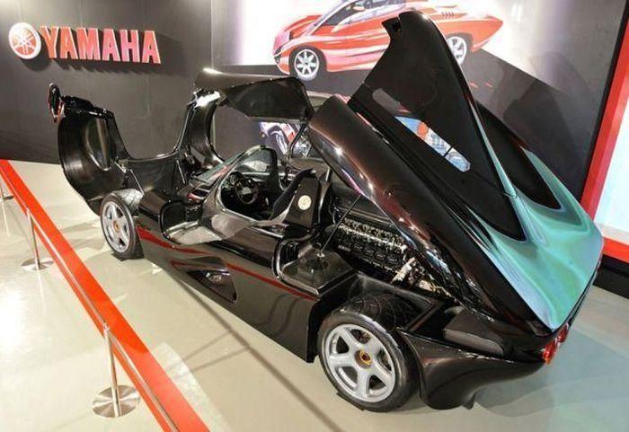 Автомобиль от мотоциклетной компании Yamaha (30 фото)