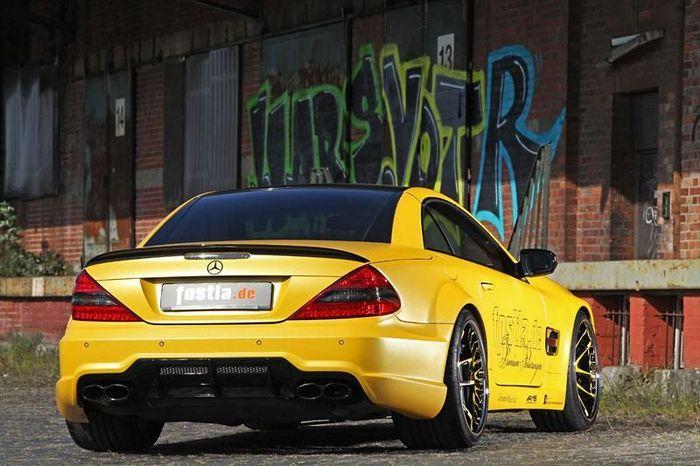 В ателье Fostla прокачали Mercedes-Benz SL55 AMG (13 фото)