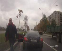 Злой учитель 666 против девушки-водителя