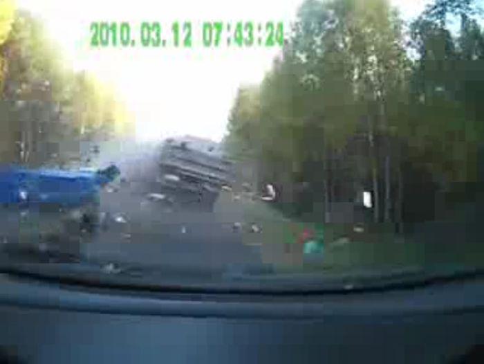 Авария дня часть 758 (фото+видео)