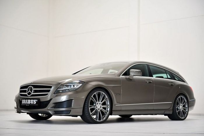 Mercedes-Benz CLS Shooting Brake от ателье Brabus (28 фото)