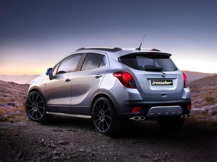 Придворное ателье компании Opel - Irmscher - подготовило стайл-пакет для модели Mokka (4 фото)