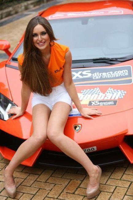 Девушки с автогонок Cannonball Run 2012 (46 фото)