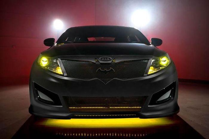 Компания Kia построила Бэтмобиль (7 фото)