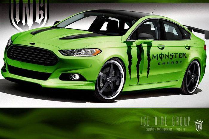 Компания Ford покажет 4 заряженных Fusion на SEMA 2012 (4 фото)