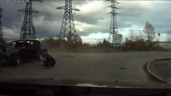 Авария дня часть 766 (фото+видео)