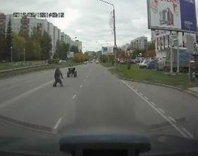 Квадроциклист-неудачник