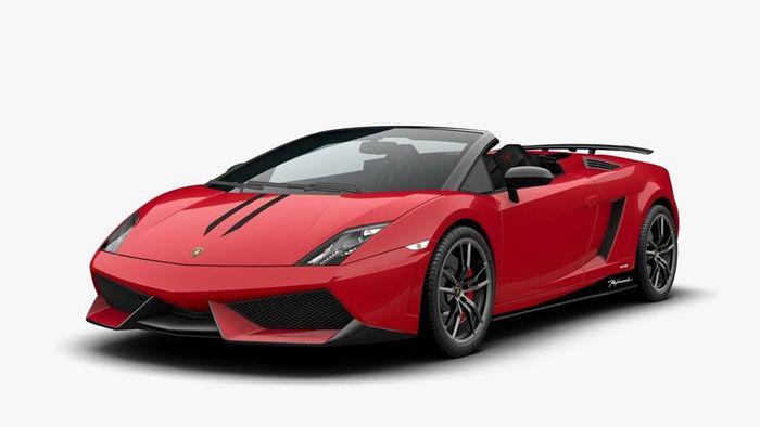 Новый Lamborghini Gallardo LP560-4 в версии кабриолет (12 фото)