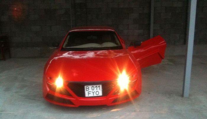 Необычный вид Mitsubishi GTO из Казахстана (6 фото)