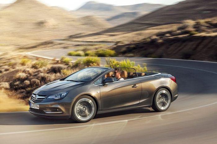 В компании Opel представили новый кабриолет Cascada (20 фото+видео)