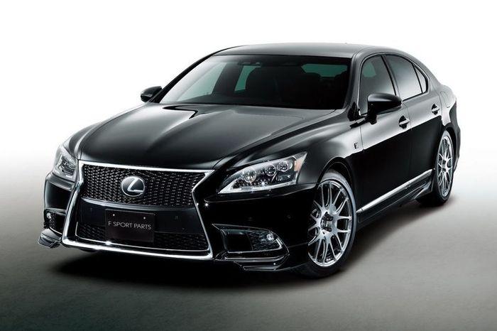 Седан Lexus LS получил пакет доработок от TRD (6 фото)