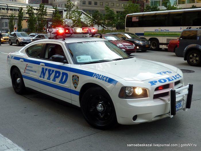 Техника полиции Нью-Йорка (36 фото)