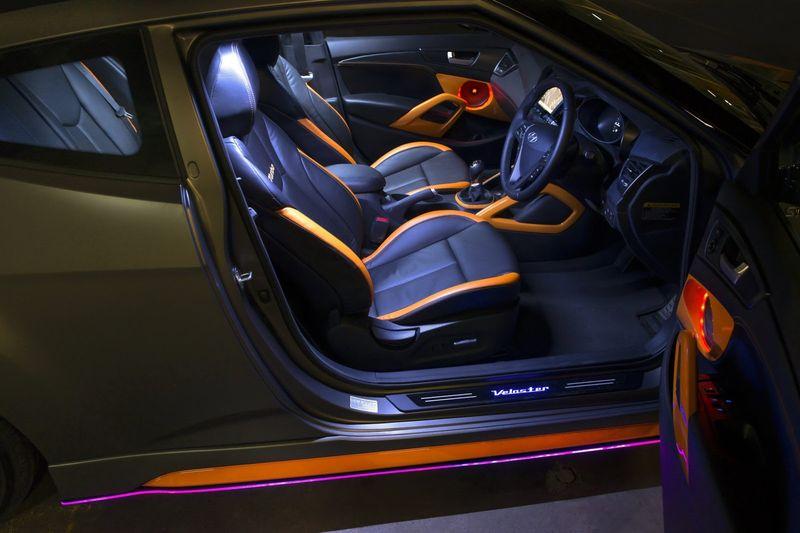 Прокаченный Hyundai Veloster Street Concept (8 фото)