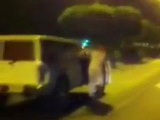 Скользящий араб на скорости 100 км/ч