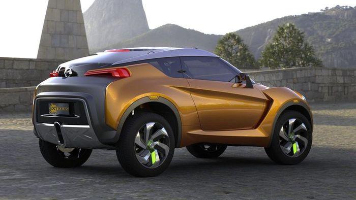 Extrem Concept - свежий взгляд на кроссовер от Nissan (13 фото)