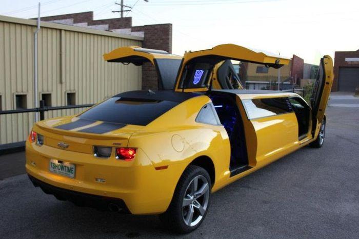 Chevrolet Camaro Bumblebee - необычный лимузин (19 фото+2 видео)