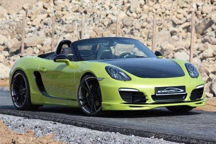 В ателье SpeedART прокачали Porsche Boxster (981) (35 фото)