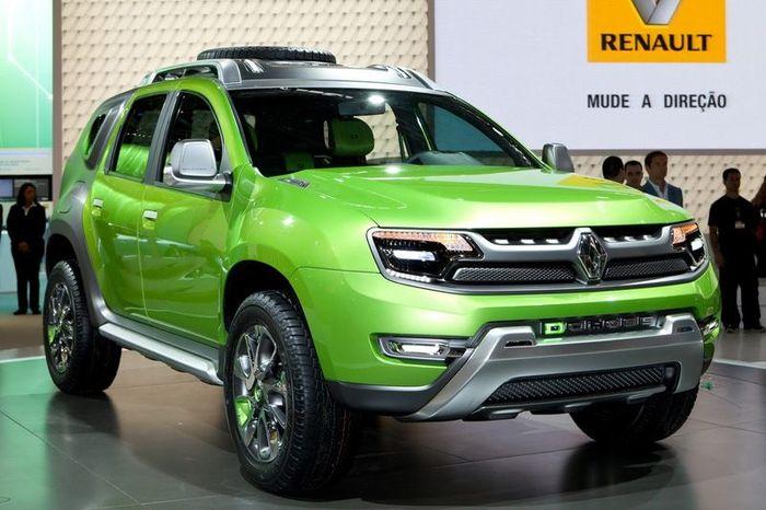 Компания Renault показала новый концепт DCross (6 фото)