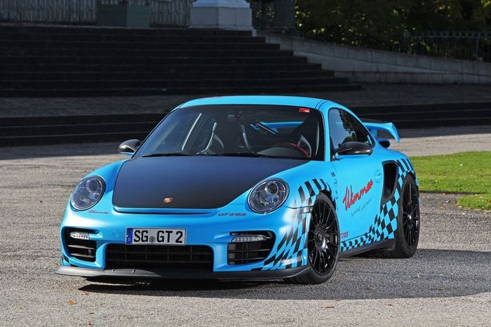 Porsche 911 GT2 RS в нереальном тюнинге от Wimmer RS (14 фото)