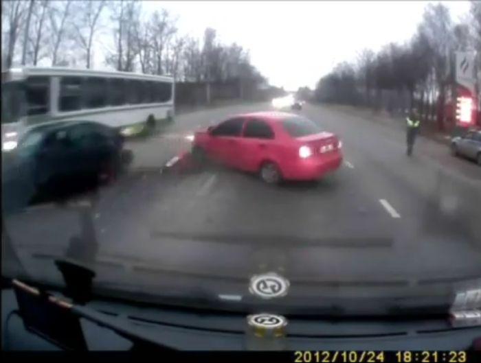 Авария дня часть 786 (фото+видео)