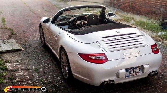 Одноместный кабриолет Porsche 911 (997) (21 фото+видео)