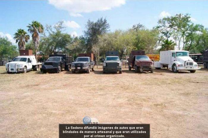 Изъятые самодельные броневики нарко-картелей Мексики (32 фото)