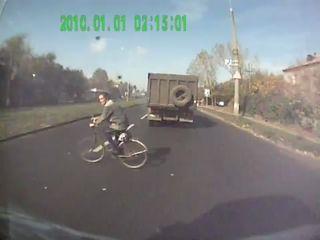 Идиот на велосипеде