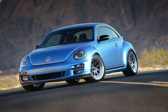 500-сильный Volkswagen Beetle покажут на выставке SEMA (6 фото)