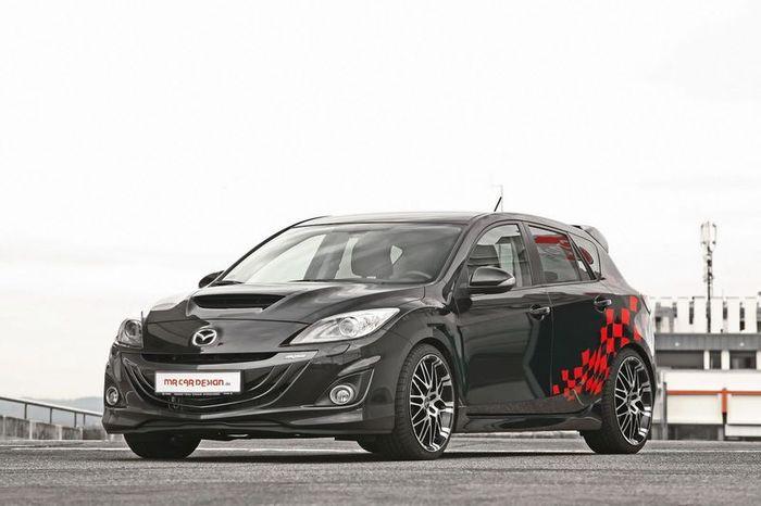 Заряженная Mazda3 MPS от ателье MR Car Design (5 фото)