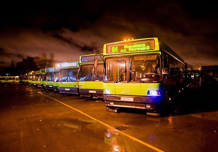Один день с водителем автобуса (41 фото)