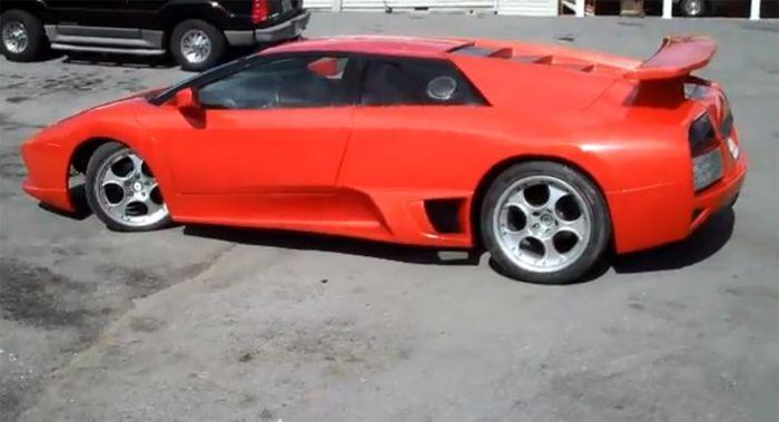 Найдено на Ebay. Toyota MR2 в виде Lamborghini Murcielago (22 фото+2 видео)