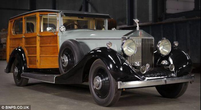Rolls Royce Phantom 1928 г.в. - первый в мире универсал (7 фото)