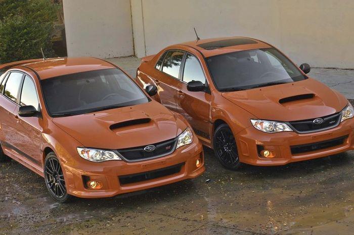Subaru Impreza WRX и Impreza WRX STI на выставке SEMA (78 фото)