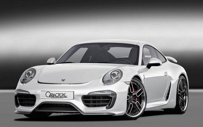Porsche 911 (991) от бельгийских мастеров из Caractere Exclusive (20 фото)