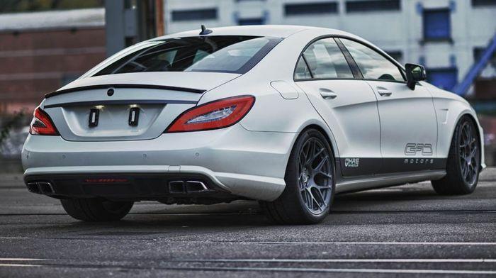 Mercedes-Benz CLS 63 AMG от немецкого ателье GAD Motors (3 фото+3 видео)