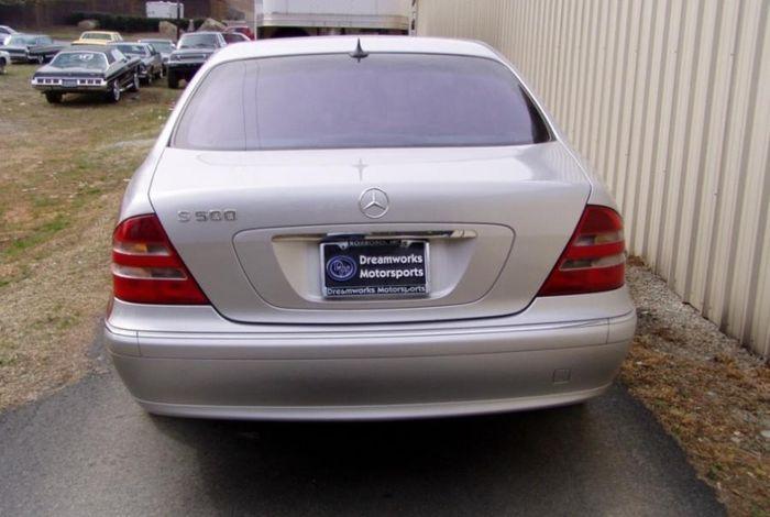 Как освежить вид Mercedes-Benz S500? (7 фото)