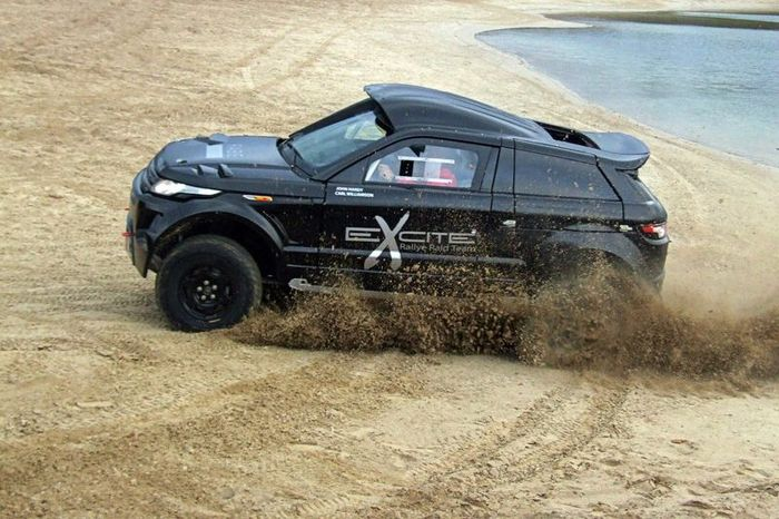 Range Rover Evoque для Дакара от RaBe Race Cars (3 фото+видео)